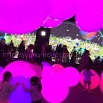 東京お台場チームラボ【踊る!アート展と学ぶ!未来の遊園地】感想。「お絵かき水族館、光のボールでオーケストラ」無料の「おやっこひろば」もある。