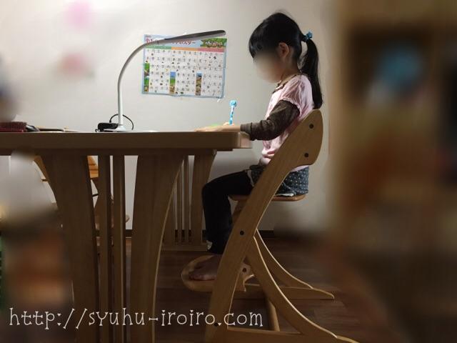 正しい勉強姿勢