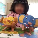 幼児ポピーでほのぼの親子学習時間。入会理由→子どもの笑顔がまぶしいから。