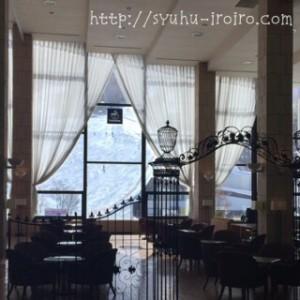 ホテルタングラムロビー