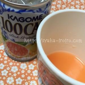 グレープフルーツジュースとタミフル
