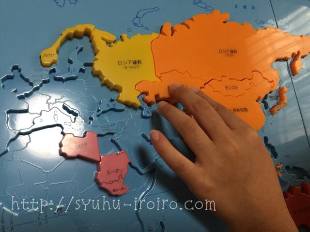 くもん世界地図