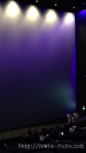 IMAX次世代レーザーのスクリーン