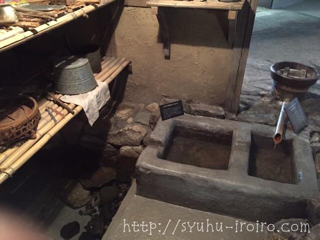 琵琶湖博物館昔の家
