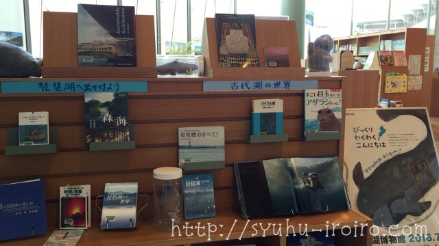 琵琶湖博物館図書室