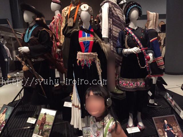中国少数民族の衣装