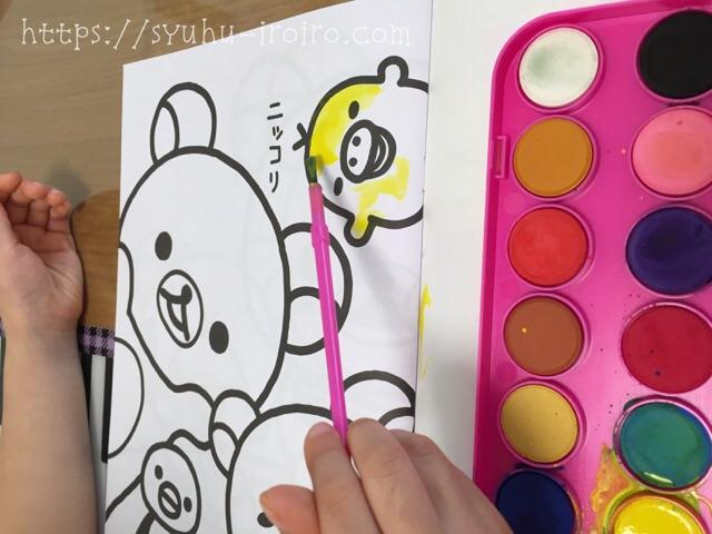 幼児でも使える絵の具