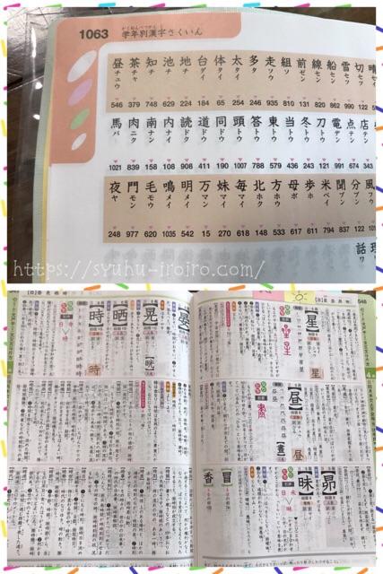 学年別漢字から探す漢字辞典
