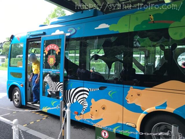 動物ラッピングバス