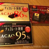 チョコレート低糖質調べ
