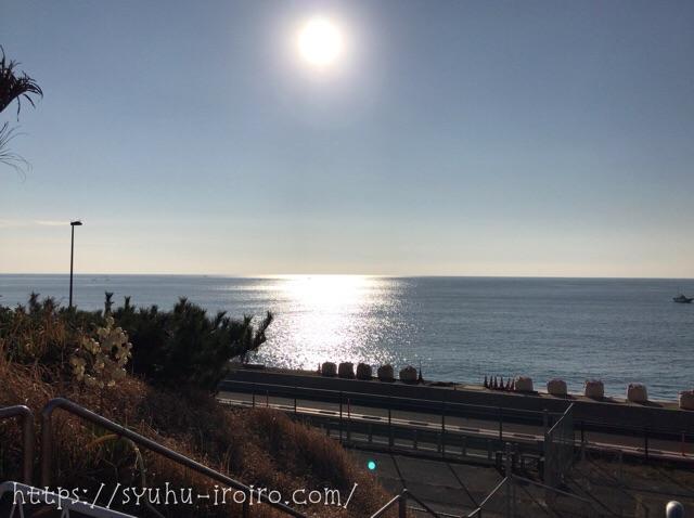 湘南国際マラソン海が綺麗