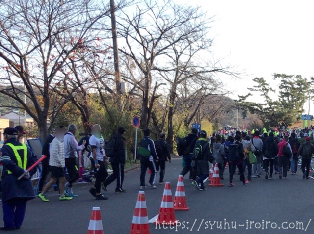 湘南マラソン徒歩