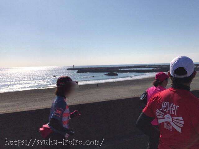 大磯港マラソン